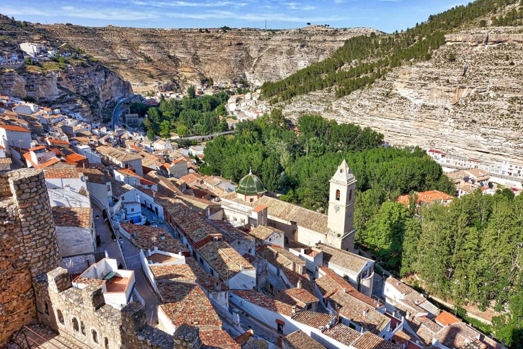 Vista aérea Alcalá del Júcar